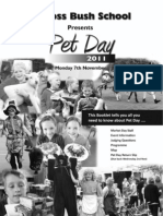 MBS Pet Day Booklet 2011