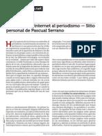 Www.pascualserrano.net La Llegada de Internet Al Periodismo Sitio Personal de Pascual Serrano
