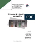 Métodos Gravimétricos 1er CORTE (III 2011)
