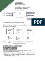 Repaso Balance de Masa en PDF