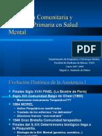 Psiquiatría Comunitariaria y Atención Primaria en Salud Mental 1