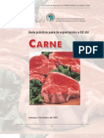Iica Guia Para Exportacion de Carne a Eeuu