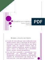 Coerencia e Coesao Textual