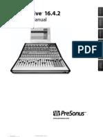 Presonus Studio Live Manual