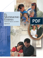 EL MATRIMONIO ETERNO - Manual Del Alumno de Instituto