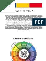Qué es el color