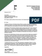 SVEC Lease Termination I - 02 23 2011