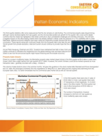 Manhattan Economic Indicators - Third Quarter 2011