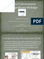 Hoja de Calculo Electronic A