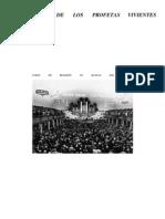 ENSEÑANZA DE LOS PROFETAS VIVIENTES - Manual