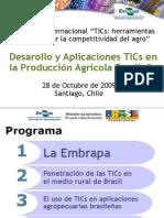Desarollo y Aplicaciones Tics en La Produccic3b3n Agrc3adcola Brasilec3b1a Cassia Mendes