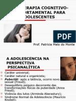PSICOTERAPIA COGNITIVO-COMPORTAMENTAL PARA ADOLESCENTES