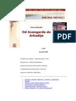Od Avangarde Do Arkadije Milanka Todic