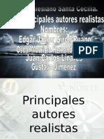 Los Principales Autores Realistas