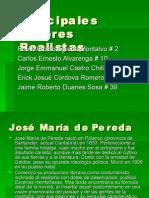 Principales Autores Realistas 41A