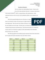 Formal Lab Report_density