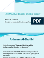 Al-IMAM Al-Shatibi and His Book Al Muwafaqat