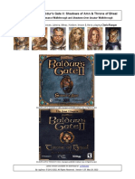 Baldur's Gate 2 Walkthrough for SoA & ToB Cleric/Ranger
