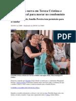 Griselda dá surra em Tereza Cristina e consegue aval para morar no condomínio
