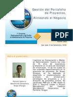 Gestion de Port a Folio de Proyectos Alineando El Negocio