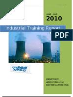 54427928 Ind Training Report NTPC DADRI