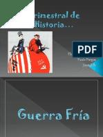 Trimestral de Historia Guerra- Fria....