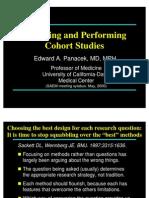 Panacek Design and Performing Cohort Studies