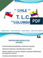 Negociación de servicios en el TLC Colombia Chile
