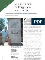 S. Pugliese, Ferramonti di Tarsia. Calabria's forgotten internment camp