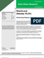 RLOC 3Q11 Review