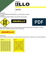 Lamina 4 Investigación del color Amarillo