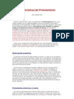 Características del Protestantismo