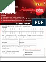 Corregidor Int'l Half Marathon Registration Form
