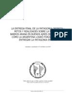 La entrega final de la Patagonia Oriental. Mitos y realidades sobre la misión de Barros Arana en Buenos Aires de 1877 a 1878.