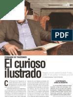 Entrevista a Fernando de Trazegnies - Revista COSAS 1