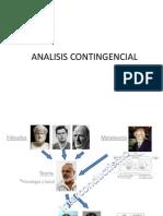 Analisis contingencial