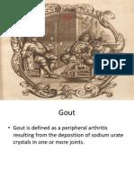 Gout Arthritis 2011