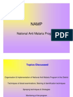 NAMP National Anti Malaria Program