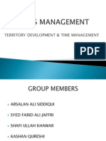 4-Territory Development & Time Management