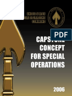 Capstone Concept for Special Operations - 2006