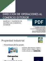 Marcas y Patentes en Materia de Comercio Exterior