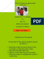 E Learning Game