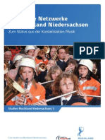 Regionale Netzwerke im Musikland Niedersachsen. Zum Status quo der Kontaktstellen Musik