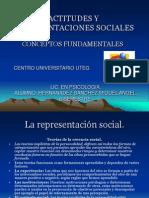 ACTITUDES Y REPRESENTACIONES SOCIALES