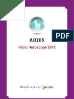 Aries Horoscope 2012