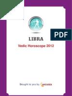 Libra Horoscope 2012