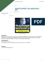 | Wave Spoofer comment installer une application sans Samsung Apps » mygsm.fr