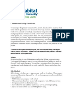 Kit Sap Safety Guidelines