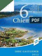 Gastgeberverzeichnis 6 Am Chiemsee 2012