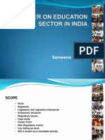 Primer on Education Sector in India 30 07 11